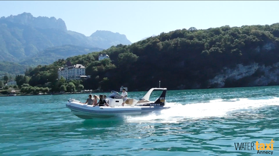 excursion en bateau sur le lac d