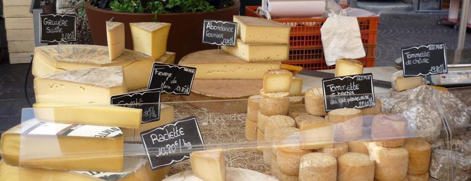 Fromages du marché d