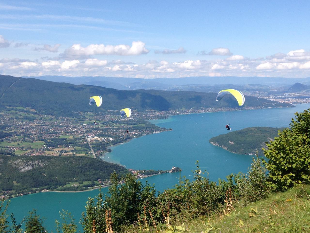 Col Forclaz lake Annecy