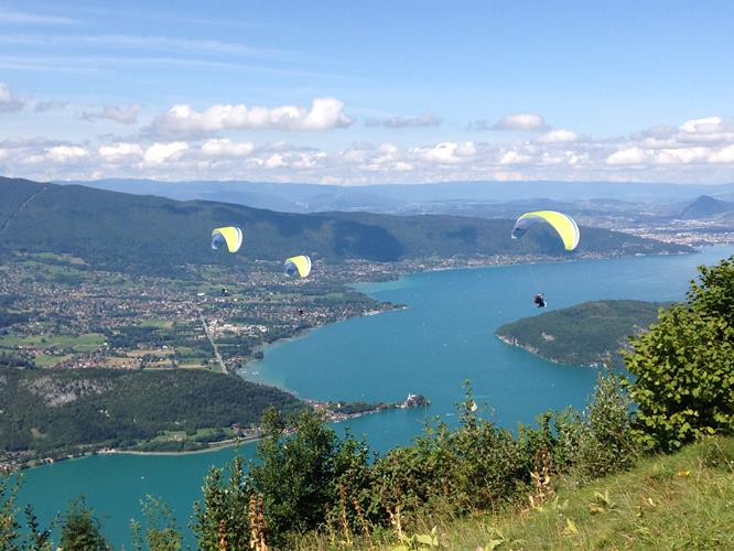 SENSATION BREAK AT LAKE ANNECY